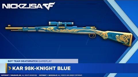 Kar 98K-Knight Blue CROSSFIRE North America 2