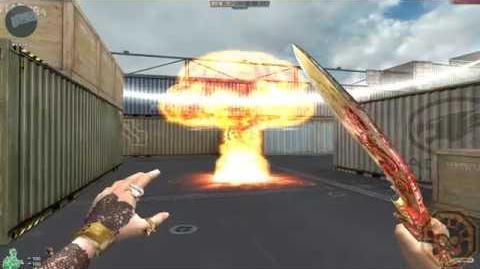 【CF】 Cross Fire China Grenade-Nuclear Skin (超级核爆手雷) BR Mode (Mini Royal) Skin !