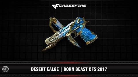 CF Desert Eagle Born Beast CFS 2017