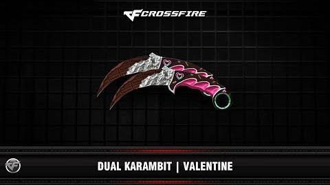 CF Dual Karambit Valentine 2019
