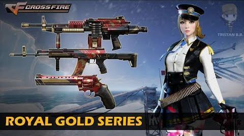 CrossFire China Royal Gold Series (Showcase)