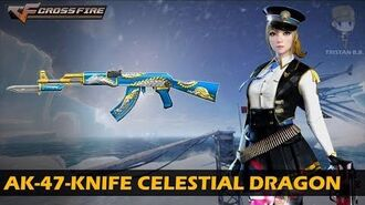 CrossFire Vietnam AK-47-Knife Celestial Dragon
