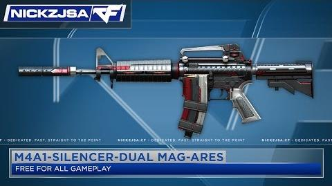 M4A1-Silencer-Dual Mag-Ares CROSSFIRE Indonesia 2