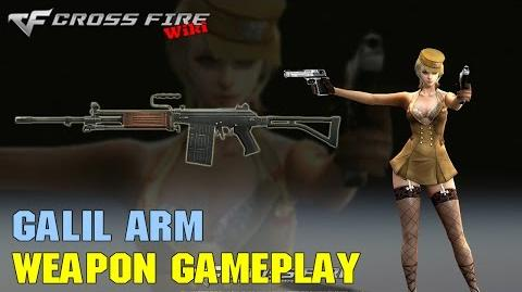 CrossFire - Galil ARM - Weapon Gameplay