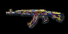 BI AK47 GoldDragon Blue