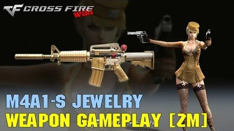 CrossFire - M4A1-S Jewelry VVIP - Weapon Gameplay