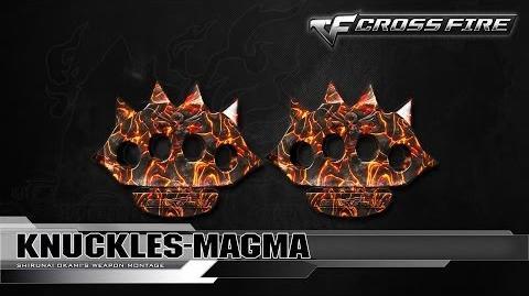 CrossFire Vietnam Knuckles-Magma ☆