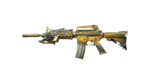M4A1-S BEAST NOBLE GOLD RENDER