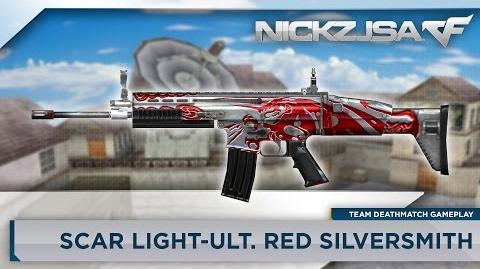 SCAR Light-Red Silver CROSSFIRE Indonesia 2