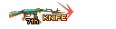SHOT WEAPON AK47 Knife TurtleShell KNIFE 7th
