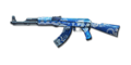AK47 BLUE SILVER DRAGON