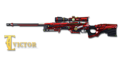 AWM RED FRAME HAWK