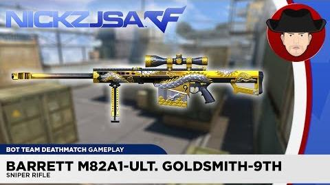 Barrett M82A1-Ultimate Goldsmith-9th CROSSFIRE China 2.0