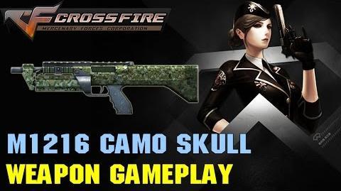 CrossFire VN - M1216 Camo Skull