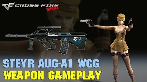 CrossFire - Steyr AUG A1 WCG - Weapon Gameplay