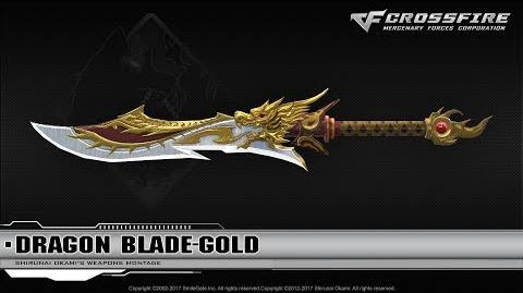 CrossFire China Dragon Blade-Gold