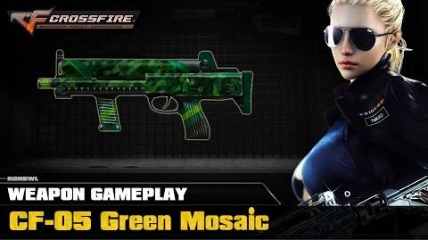 CrossFire VN - CF-05 Green Mosaic