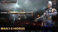 CrossFire Vietnam M4A1-S Horus
