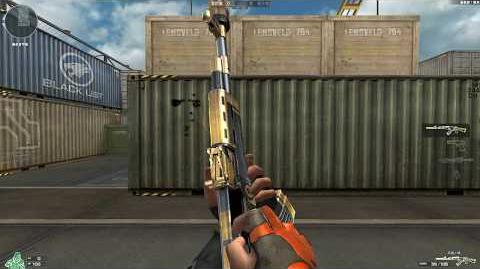 Cross Fire China AK47-S Gold Phoenix !