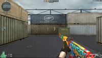 AK47 GRAFFITI HUD