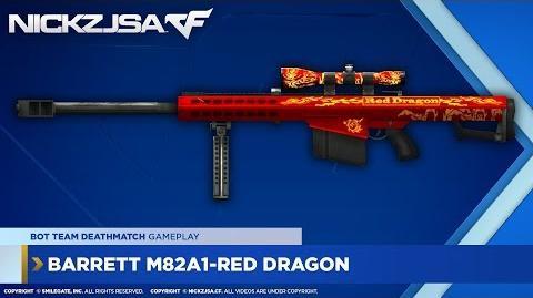 Barrett M82A1-Red Dragon CROSSFIRE Japan 2