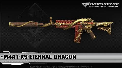 CrossFire China M4A1-XS-Eternal Dragon
