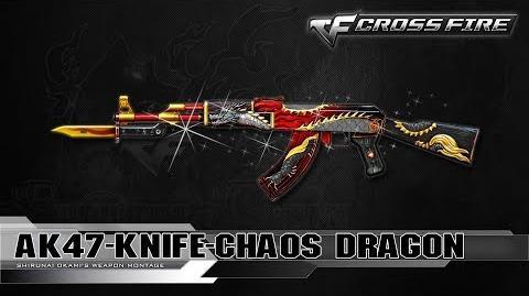 CrossFire Vietnam AK-47 Knife-Chaos Dragon ☆