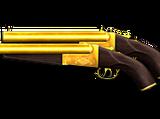 Dual Double Barrel-Gold