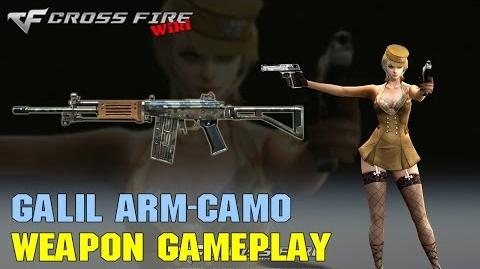 CrossFire - Galil ARM Camo - Weapon Gameplay