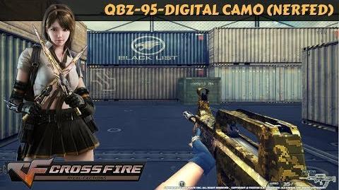 CrossFire Vietnam - QBZ-95-Digital Camo (nerfed)