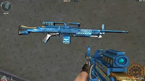 Cross Fire China MG4-Knight Blue !