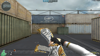 AK47 K BB NOBLE GOLD MELEE 2