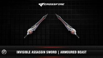 CF Invisible Assassin Sword Armoured Beast