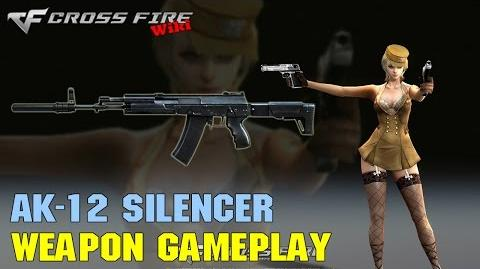 CrossFire - AK-12 Silencer - Weapon Gameplay