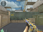 AK-47 Knife Transformers Imperial Gold Screenshot Ingame