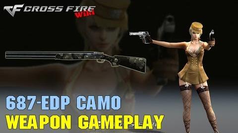 CrossFire - 687 EELL Diamond Pigeon Camo - Weapon Gameplay