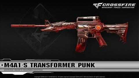 CrossFire China M4A1-S Transformer Punk (VIP material)