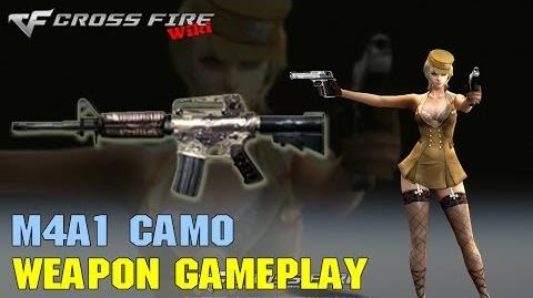 CrossFire - M4A1 Camo - Weapon Gameplay