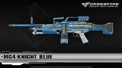 CrossFire China MG4-Knight Blue