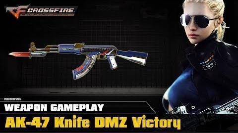 CrossFire VN - AK-47 Knife DMZ Victory