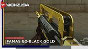 FAMAS G2-Black Gold CROSSFIRE China