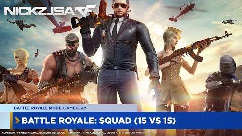 Battle Royale Squad 15 VS 15 (with Commentary) CROSSFIRE China 2