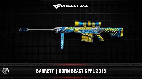CF Barrett Born Beast CFPL 2018