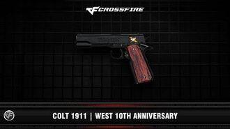 CF Colt 1911 West 10th Anniversary