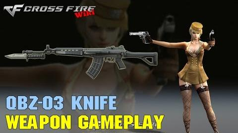 CrossFire - QBZ-03 Knife - Weapon Gameplay