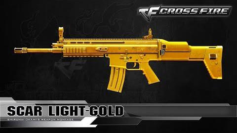 CrossFire Vietnam Scar Light-Gold ☆
