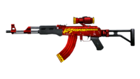 AK47 SCOPE RED DRAGON RD1