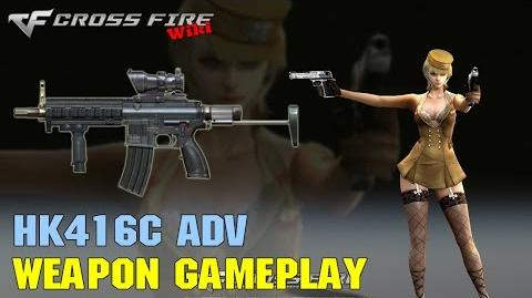 CrossFire - HK416C-Adv - Weapon Gameplay