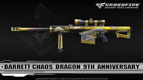 CrossFire China Barrett-Chaos Dragon 9th Anniversary
