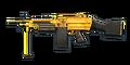 FN M249 GOLD